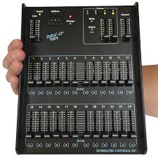 dmx light board controller dmx it 524 handheld dmx lighting controller with guard rails