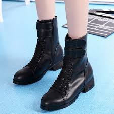 s boots lace up low heel solid lace up low heels ankle boots azbro com
