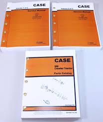 case 350 crawler tractor dozer service repair manual parts catalog