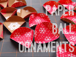paper ornament tutorial maker