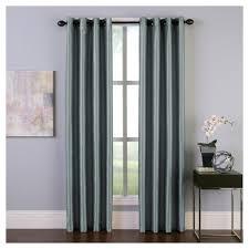 curtainworks malta room darkening curtain panel teal blue 144