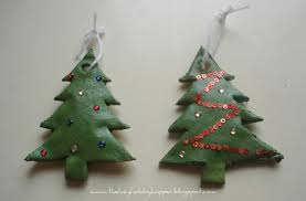 the lazy hobbyhopper salt dough ornaments