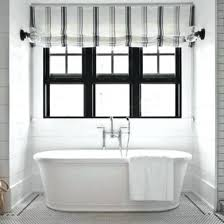 black and white striped l shade black and white roman shades no sew black white stripe roman shades
