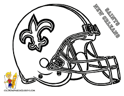 nfl helmet coloring page coloring home
