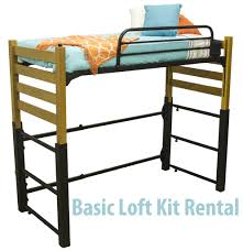 Basic Metal Bed Frame Lofting Kit Rental Contracts For Your Residence Halls