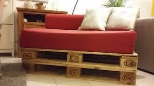 canapé lit palette canapé lit chauffeuse sur palettes meuble d occasion