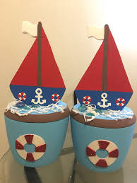 Sailboat Centerpieces Nautical Theme - mickey mouse nautical sailor foam hielera boat ice cooler mickey