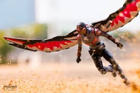 motocross action figures marvel legends civil war winter soldier u0026 falcon 6