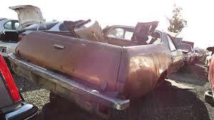 1977 el camino junkyard find 1974 chevrolet el camino