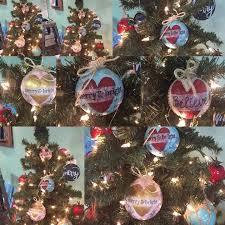 mixed media ornaments at cellar wellington