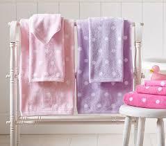 polka dot bath towel collection pottery barn kids