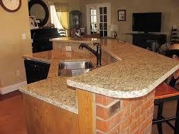 granite countertop kitchen design ideas dark cabinets picture