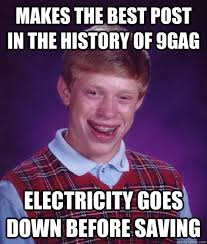 Best 9gag Memes - makes the best post in the history of 9gag electricity goes down