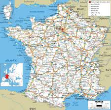 Marseilles France Map by The French Property Finders
