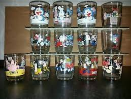 bicchieri della nutella bicchieri della nutella 13 pezzi lotto 010 ebay