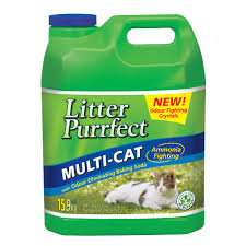 litter purrfect lemongrass cat litter 15 9kg costco uk