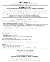 Resume Sample Journalist by Resume Reference Section Of Resume