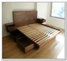Bed Frame Designs Wonderful Best 25 Platform Bed Plans Ideas On Pinterest Frame
