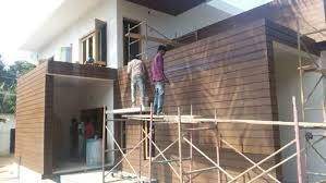 wood board wall exterior wall cladding wooden cement plank at rs 170 square