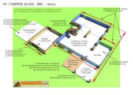 modele de terrasse couverte l u0027emprise au sol illustrée sur un projet concret de maison