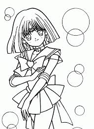 tsuki matsuri sailormoon coloring book archive coloring