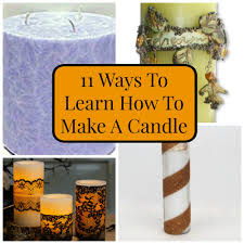 A Candle Holder 11 Ways To Learn How To Make A Candle Favecrafts Com