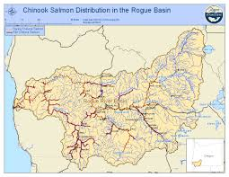 Oregon River Map by Water Conservation Early Career Ecologists