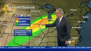 weather map chicago weather cbs chicago
