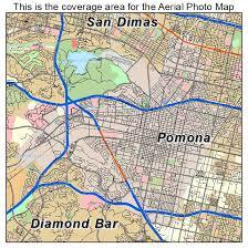 map of pomona california aerial photography map of pomona ca california