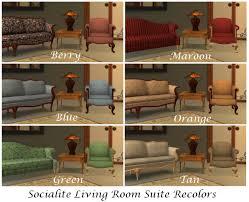 mod the sims al socialite recolors sofa loveseat u0026 chair 6