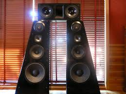 Cool Speakers Wall Of Speakers Wallpaper