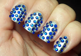 nail designs with rhinestone images nail art designs