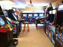 Game Room Basement Ideas - bold inspiration basement arcade gameroom showcase holcombs