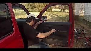 nissan frontier quarter panel door glass replacement tips anyone can do 2001 nissan frontier