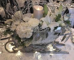sleigh wedding centerpiece winterwedding weddingcenterpiece