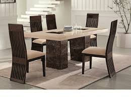 Chair Dining Table Set Modern Marble On Kitchen Tables And Chairs - Unique kitchen table sets