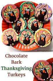 oreo thanksgiving turkeys chocolate bark thanksgiving turkeys the monday box