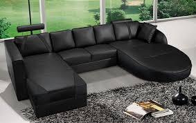 Modern Black Sofas Modern Black Italian Leather Sectional Sofa Cp 2211 Bk