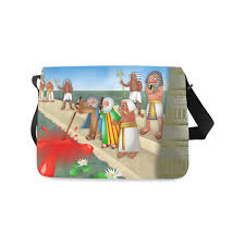 passover plagues bag passover the plague of blood messenger bag model 1628 id