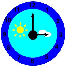 clipart clock is pointing at three o u0027clock