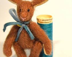 eclectic rabbit ring holder images Tiny bunny etsy jpg