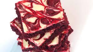 red velvet cheesecake swirl brownies recipe tablespoon com