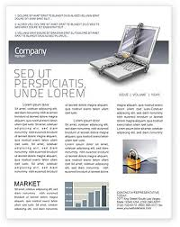 information security newsletter template for microsoft word