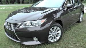 lexus es300h 0 60 best detailed walkaround 2014 lexus es300h hybrid sedan youtube
