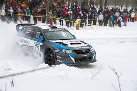 Subaru And Champion David Higgins Team Up To Win The Sno Drift