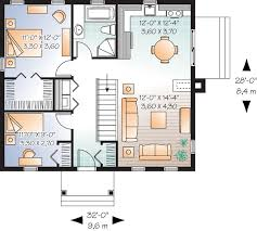 Bungalow Plans One Story House Plans With Garage Level Homes 13 Surprising Ideas