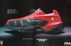ferrari shoes fila x ferrari f1 high speed sneaker 2002 defy new york