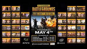 pubg tournament pubg playerunknown s battlegrounds charity invitational game 1