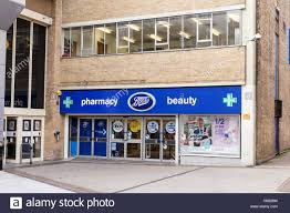 boots buy collect in store frontage of the boots pharmacy store on listergate nottingham