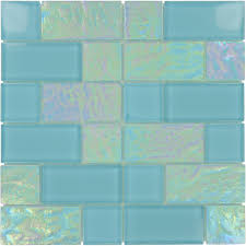 artistry in mosaics unique shapes aqua glass unique shapes tile